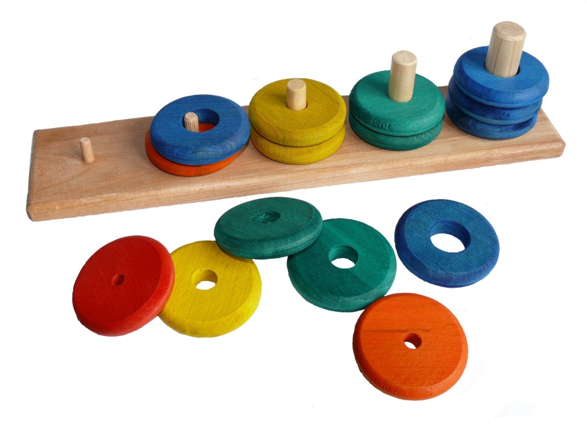 Counting & stacking toy