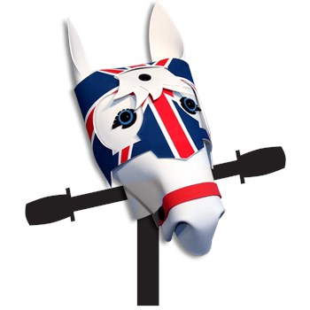 White with Union Jack Armour Jousting Jack