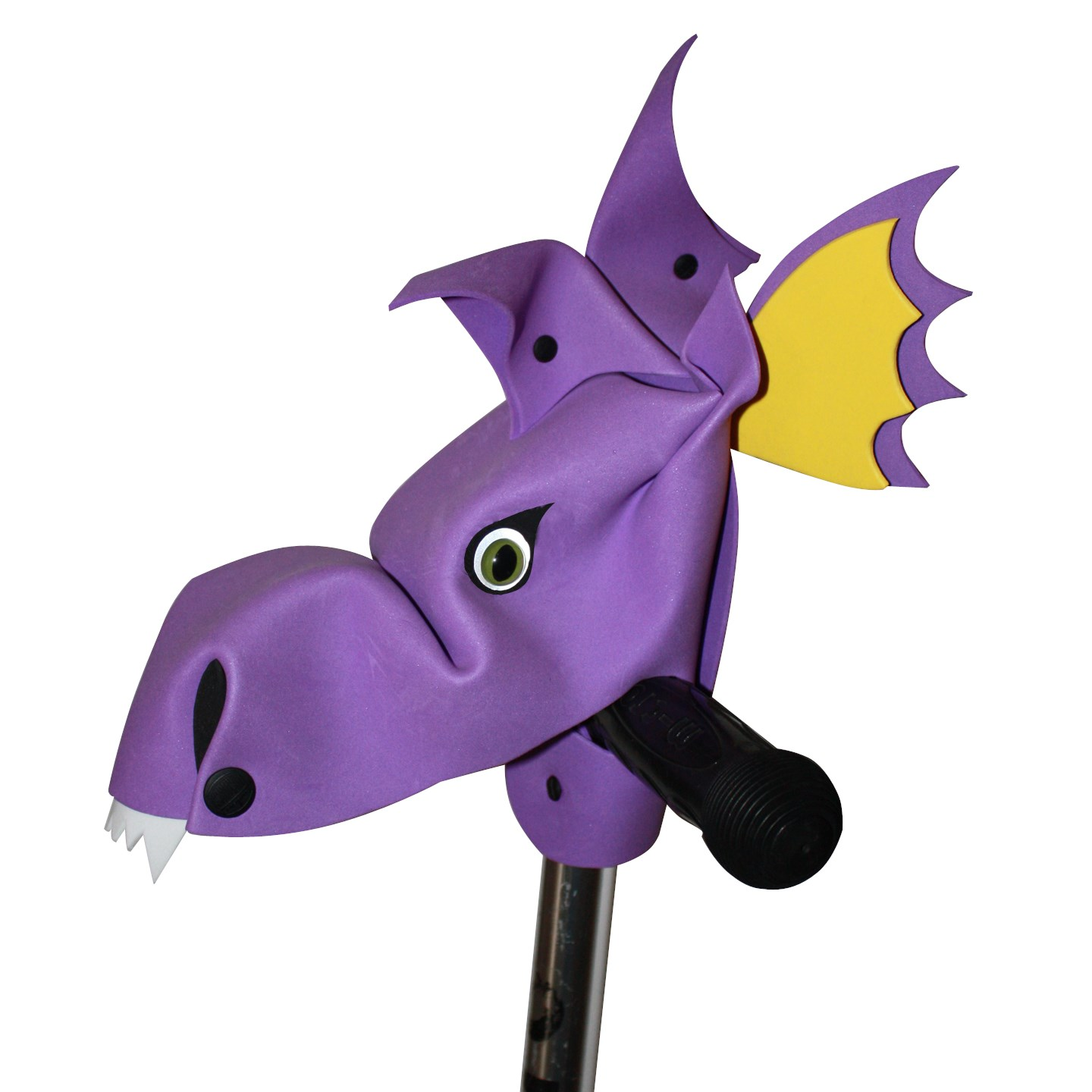 Blaze - purple hobby horse dragon bike and scooter accessory