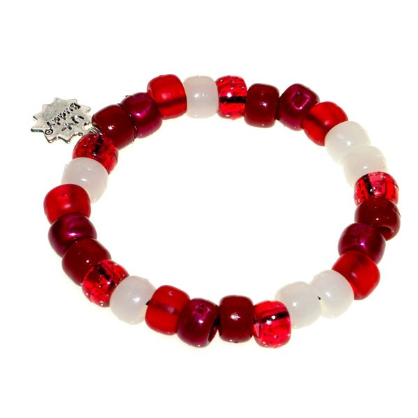 Cherry Pie UV Awareness Bracelet