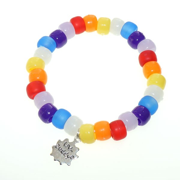 Rainbow UV Awareness Bracelet