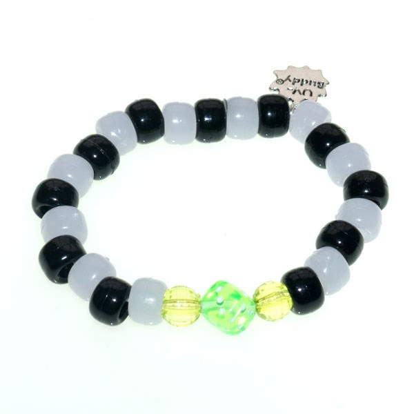 Roulette Wheel UV Awareness Bracelet