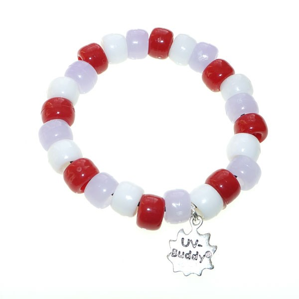 Cornish Cream Tea UV Awareness Bracelet