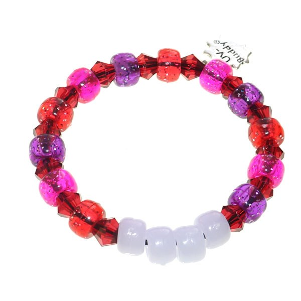 Forest Fruits UV Awareness Bracelet