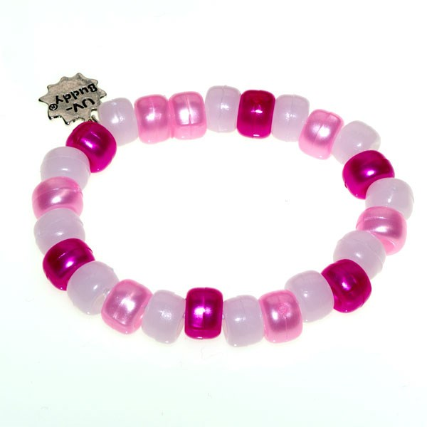 Cotton Candy UV Awareness Bracelet