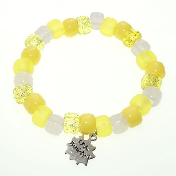 Custard And Mustard UV Awareness Bracelet