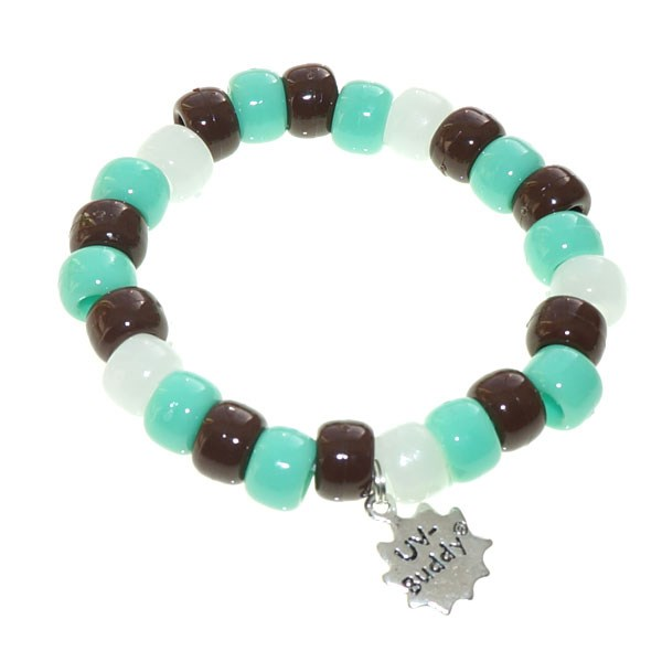 Mint Choc Chip UV Awareness Bracelet