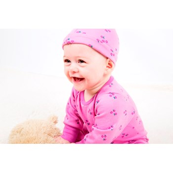 Tilly Pink Knotted Hat