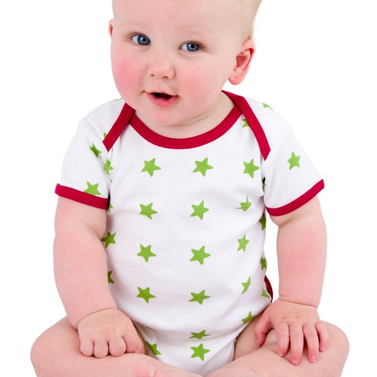 Sleepy Stars Organic Cotton Vest
