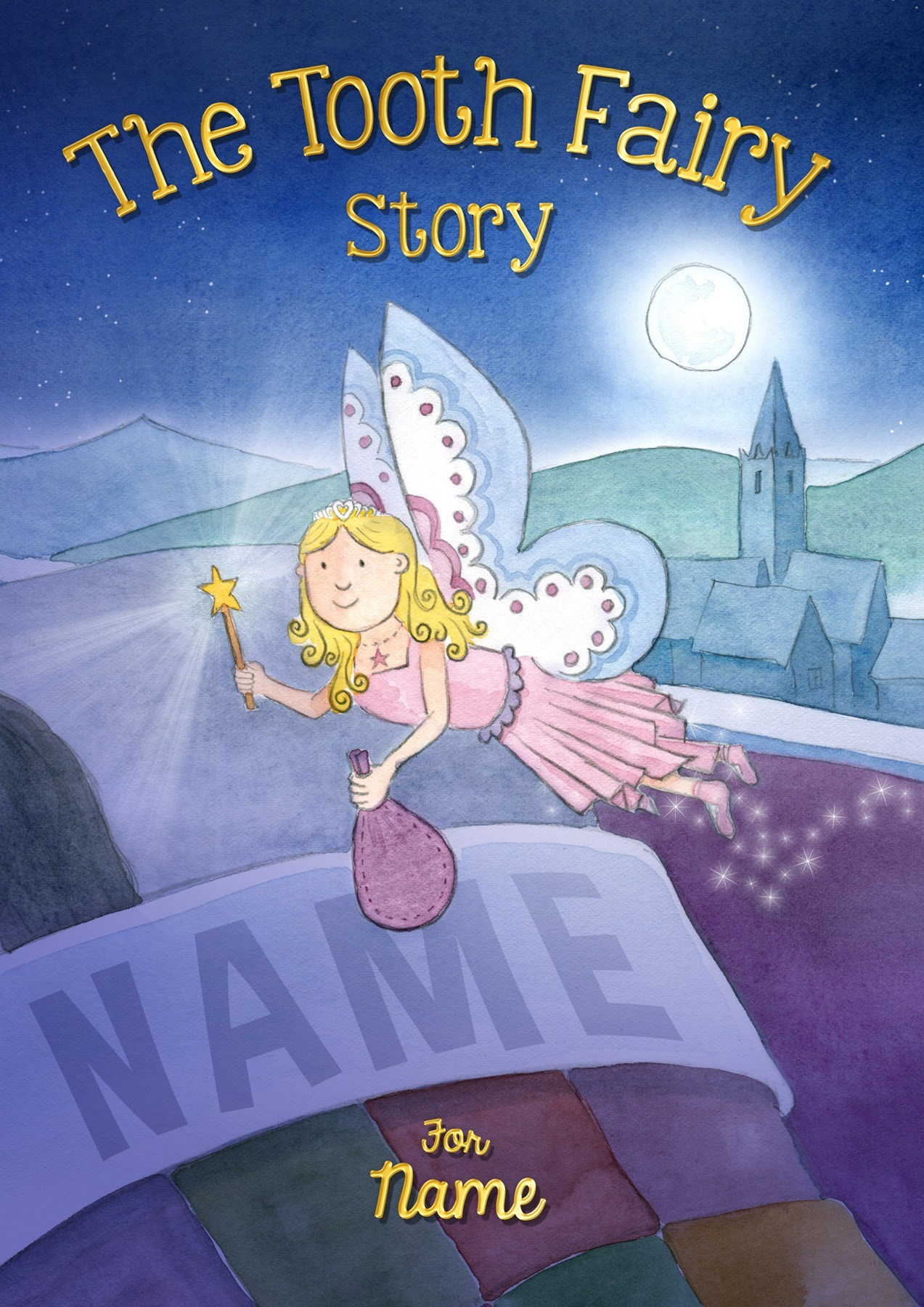 Personalised Children's Tooth Fairy Book (Paperback)