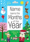 Personalised Children's Months Of The Year Book (Paperback)