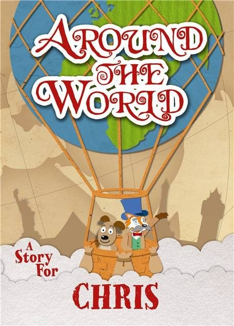 Personalised Children's Around The World Book (Paperback)