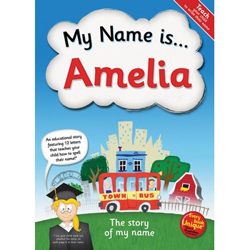 Personalised Children's My Name Is ......... Book (paperback)
