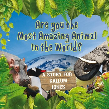 Personalised Children's Most Amazing Animals Book (Paperback)