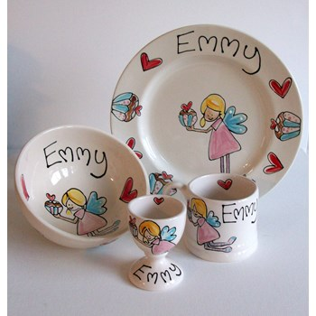 Personalised Children's Dinner Set
