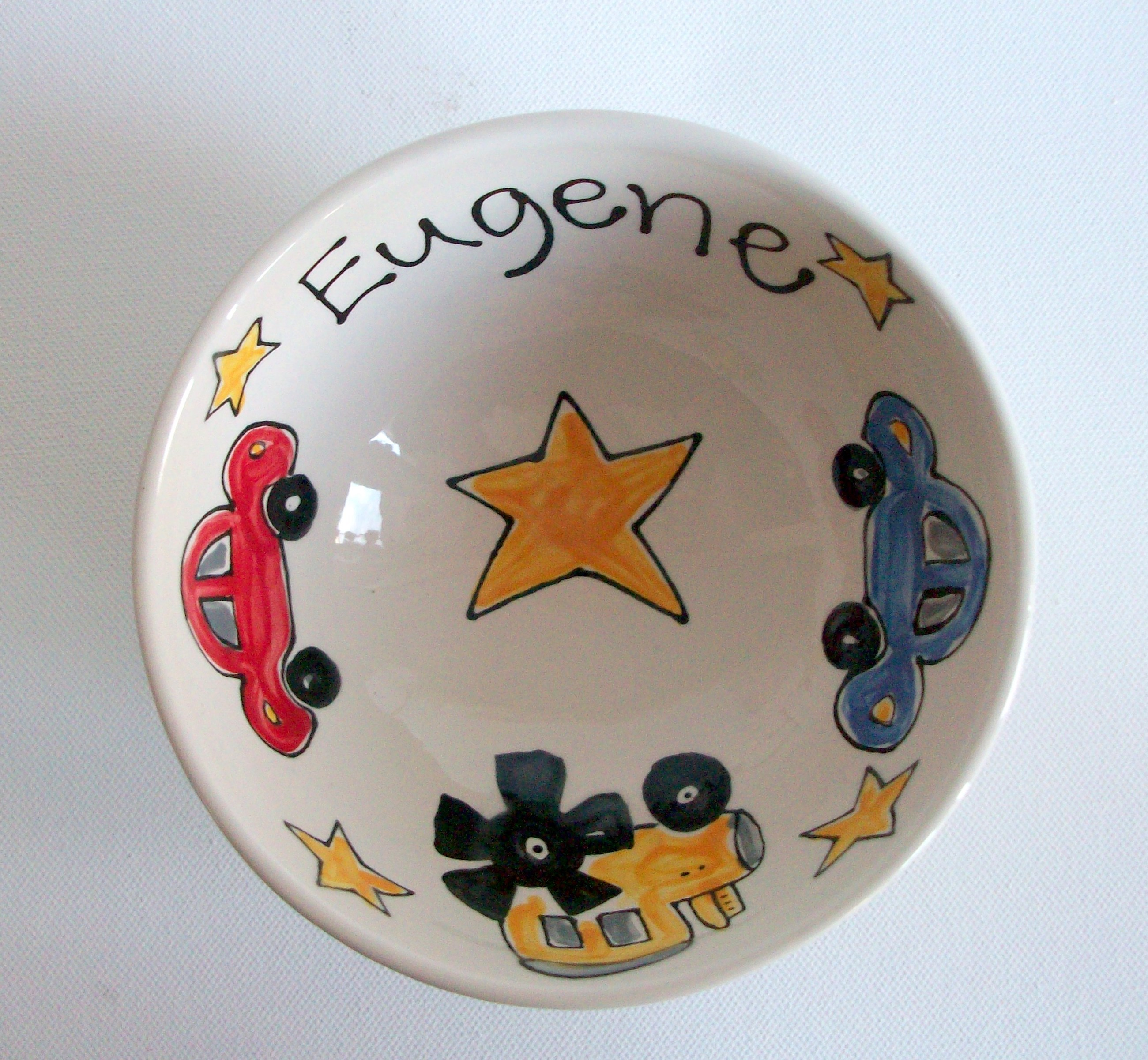 Personalised Cereal or Soup Bowl