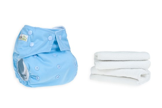 Duckegg Blue Reusable Cloth Nappy