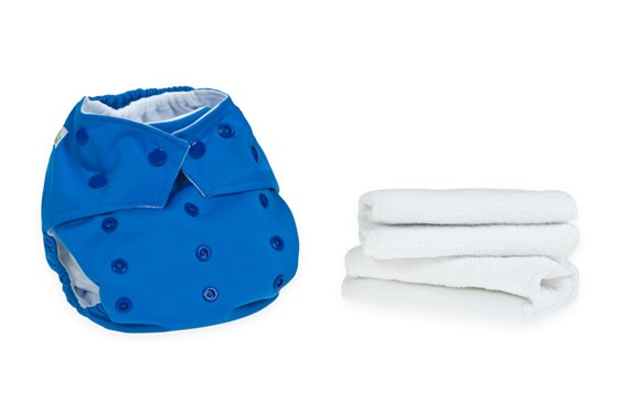 Blue Reusable Cloth Nappy
