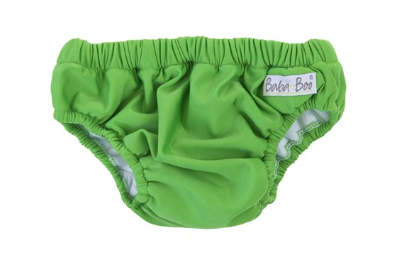 Green Reusable Swimming Nappy
