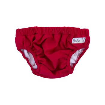 Red Reusable Swim Nappy