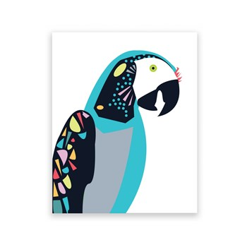 Polly Parrot 8 x 10 Art Print/Wall Art