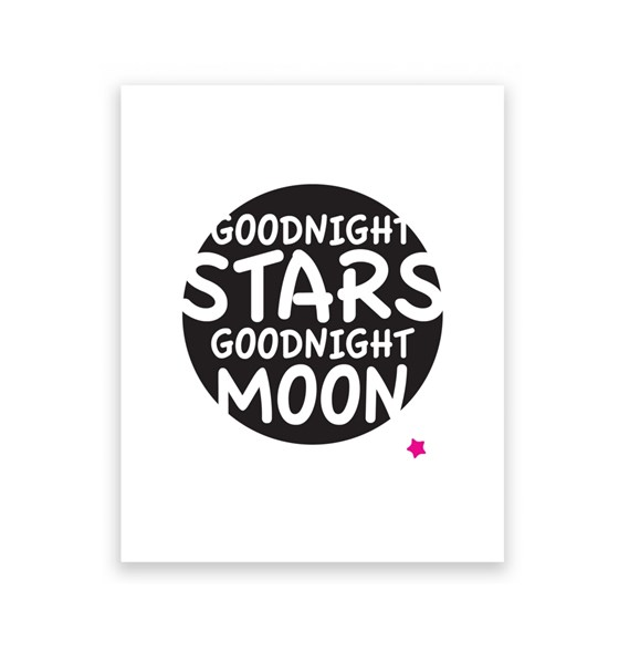 Goodnight Stars Goodnight Moon 8 x 10 Art Print/Wall Art