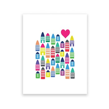 City Love - 8 x 10 Art Print/Wall Art
