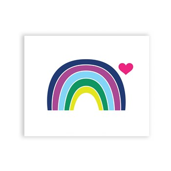 Love Rainbow 8 x 10 Art Print/Wall Art