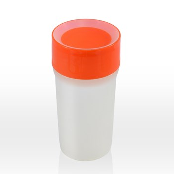 litecup - sippy cup & nightlight, vivid orange