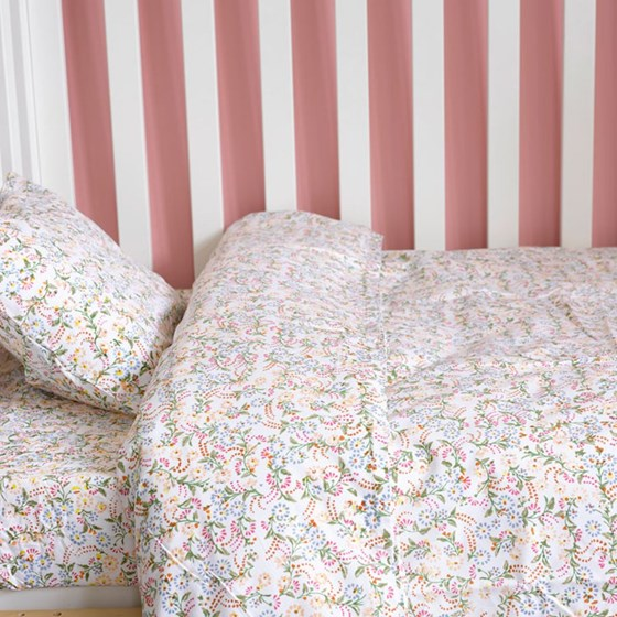 Original Floral toddler cot bed duvet set