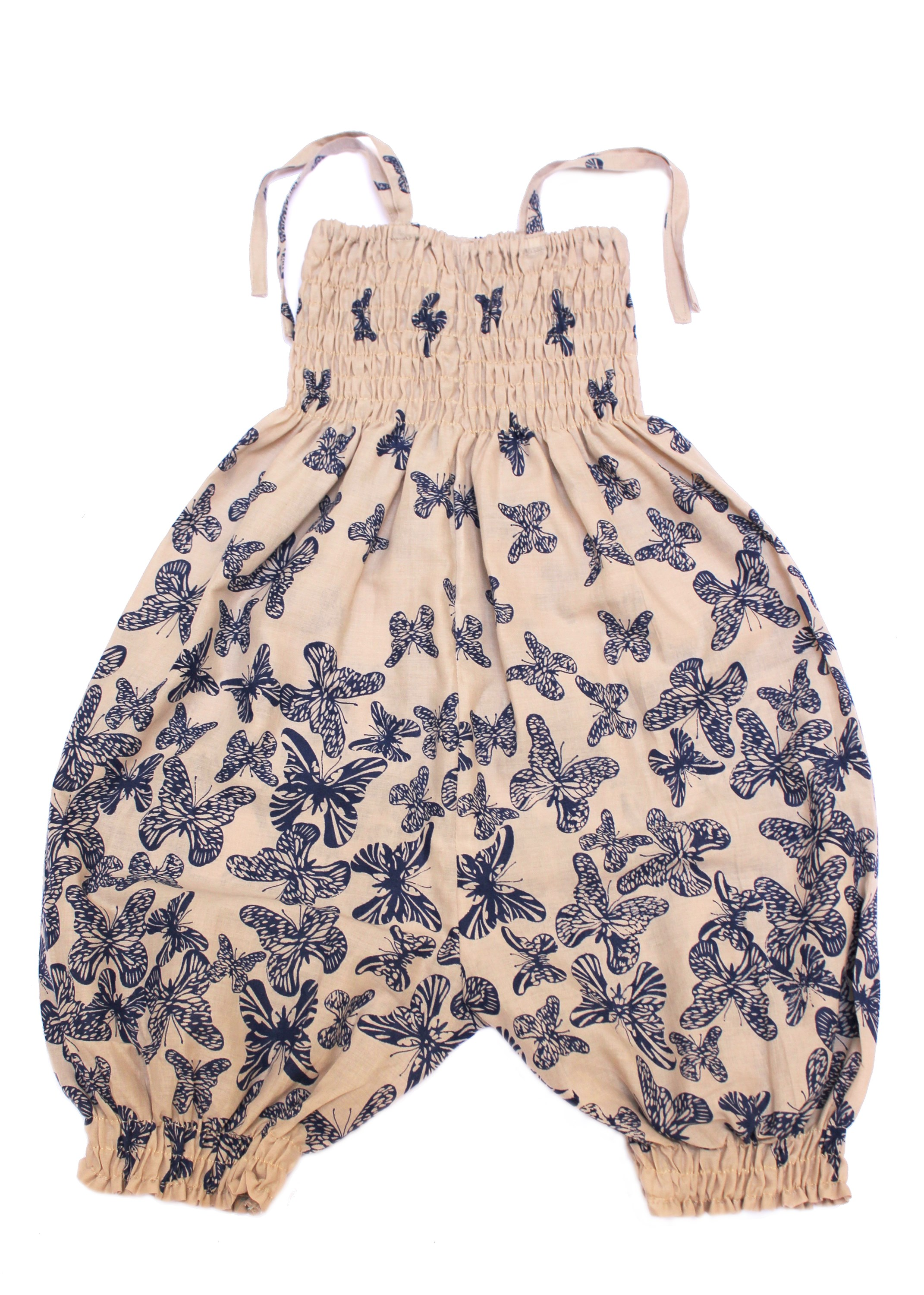 Romper in Butterfly Print